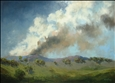 Mirjana Psakis - Bushfire on the Bathurst Plains